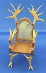 266. Antler Chair (splayed antlers)